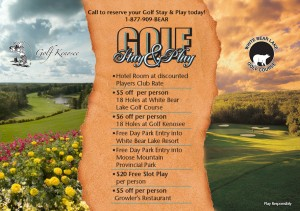 Bear Claw Stay n Play Packages